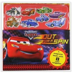 Amazon: Buy Disney Pixar Cars Out for a Spin – Disney Magnet Book at Rs. 79