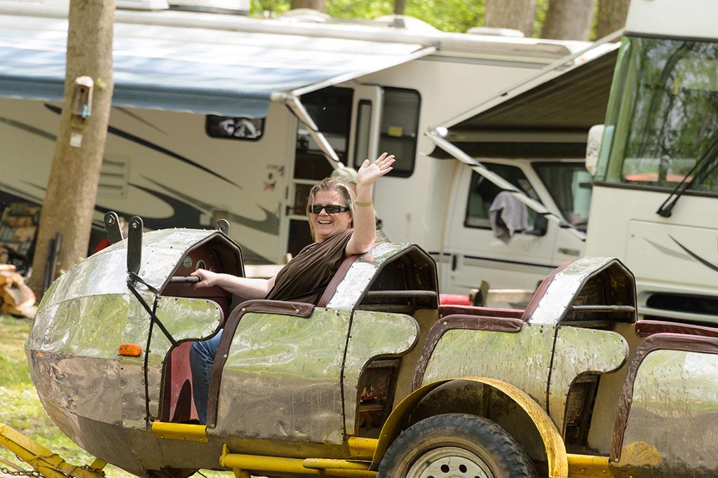 Latimore Valley Fairgrounds Rocket Ride