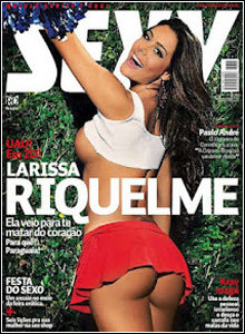 Download Revista Sexy Larissa Riquelme Maio 2012 Completa