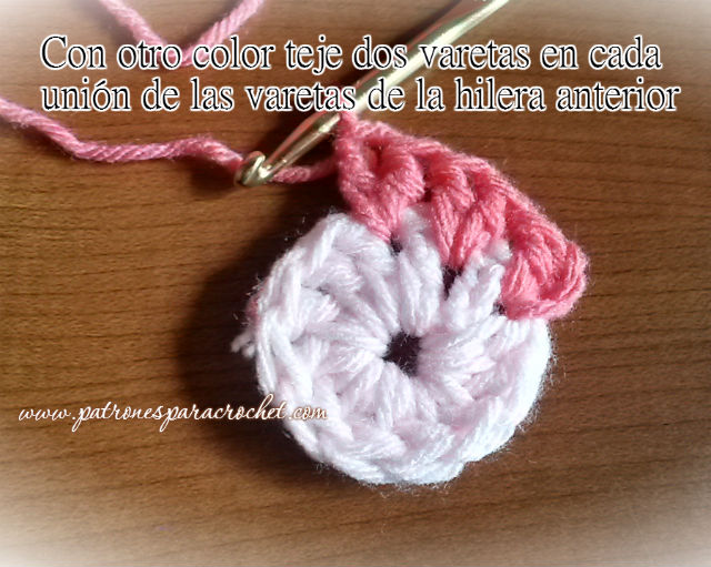 como se teje cartera de cuadros crochet