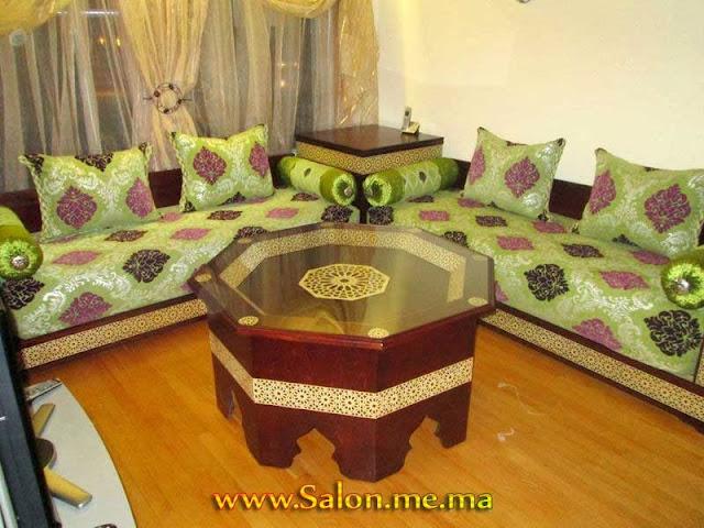 Décoration Salon marocain joyeux 2013