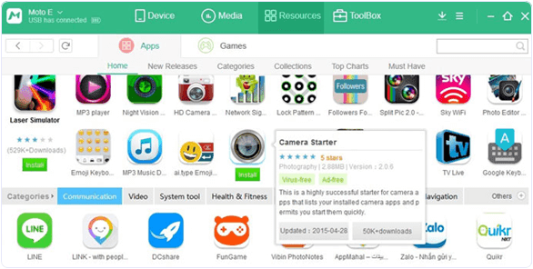 MoboMarket For PC Review apps