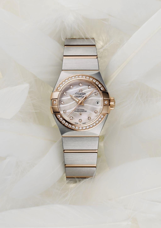 "Omega Constellation ""Pluma"" replica watch"