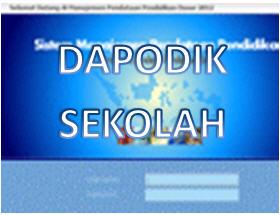 ... aplikasi pendataan dapodik terbaru nah silakan anda download aplikasi