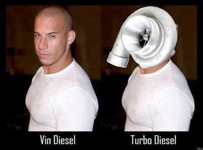 Vin Diesel vs Turbo Diesel