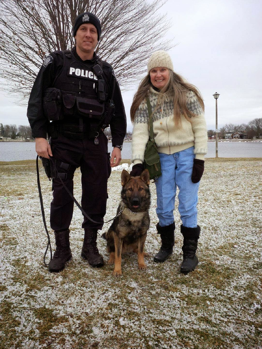 image Kawartha Lakes K9 Officer Recon with Shirley and Officer