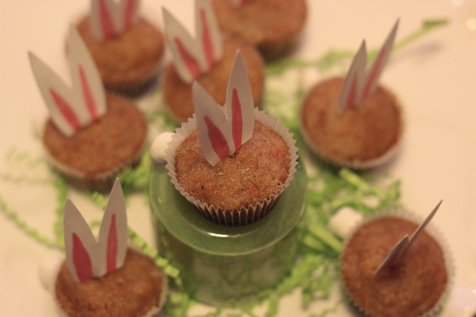 mini cupcakes, carrot