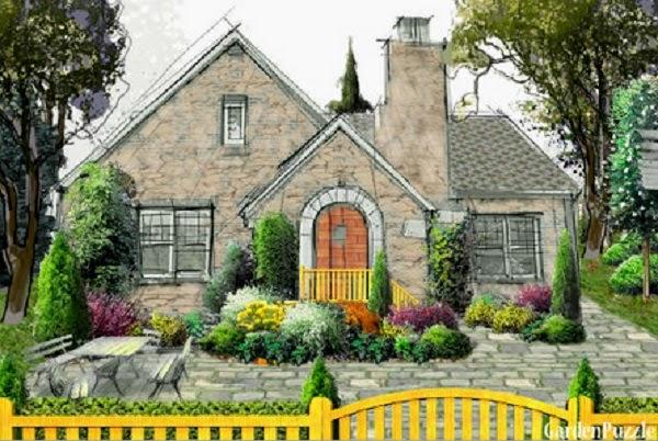 garden puzzle, una herramienta gratuíta para el diseño de jardines