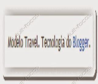 widget de atribuição padrão no blogger