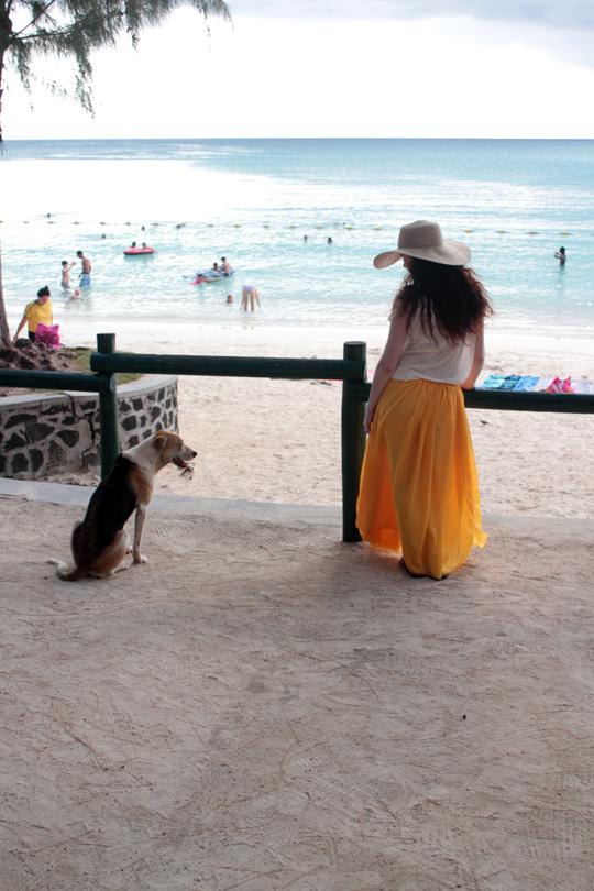 Mauritius Pereybere Beach
