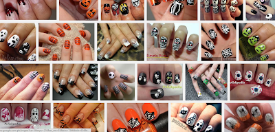 nail art images color polish inspiration sample shade halloween scary creepy design diy tips tutorials