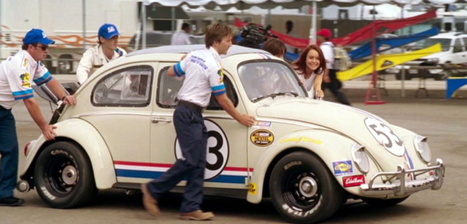 Just A Car Guy: Herbie: Fully Loaded... another fun Herbie movie ...