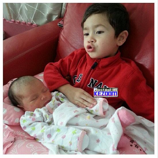 Gambar Terkini Anak Eizlan Yusof Dan Vie Shanti