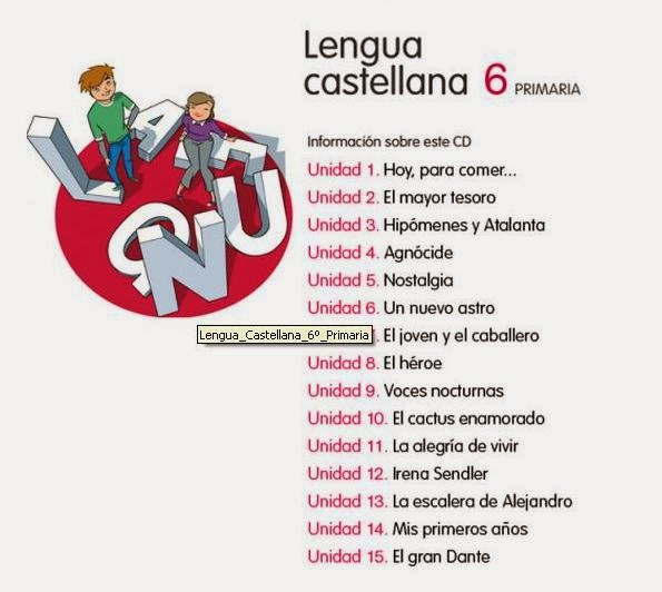 Lengua Castellana  6º