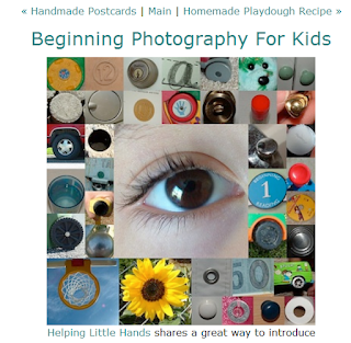 http://www.thecraftycrow.net/2012/09/beginning-photography-for-kids.html