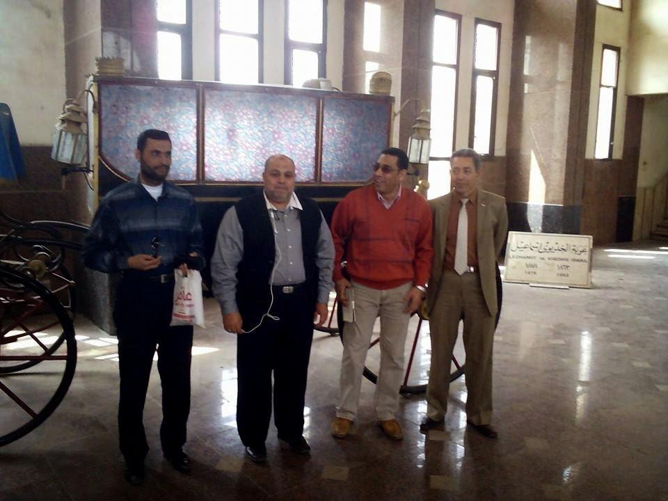#ايمن لطفى ,#طارق ضوة,#محمد الشاهد , #محمد عقل , #طارق فاروق , فى #مدينة الاسماعيلية -#محطة القطار -#عربة الخديوي اسماعيل الاثرية