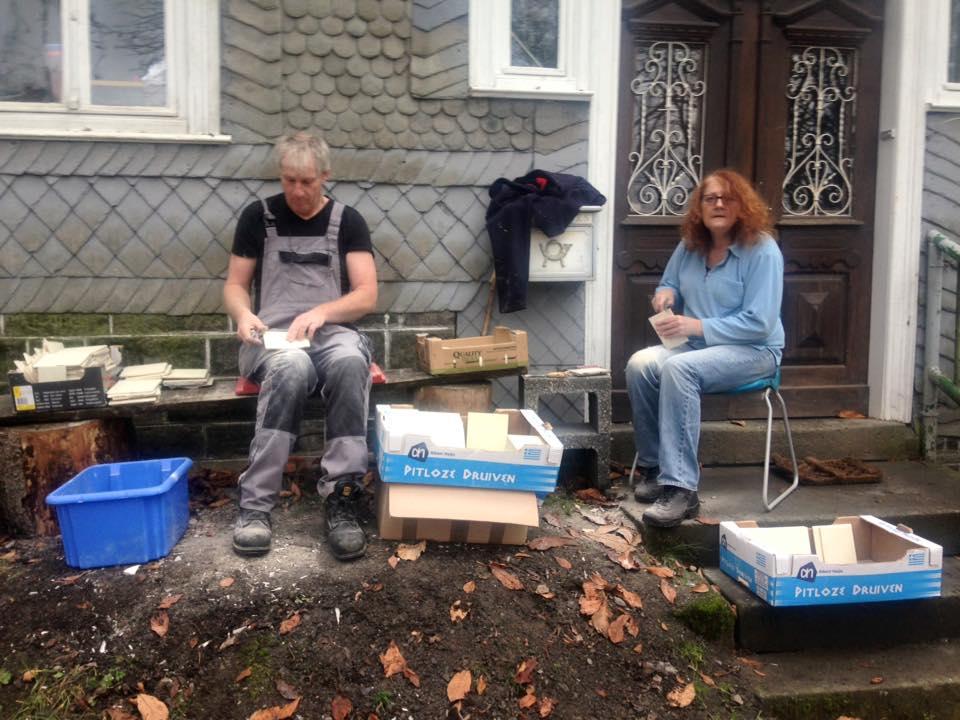 Bouwval Gezocht en Gevonden: Tegels zoeken en vinden voor de badkamer