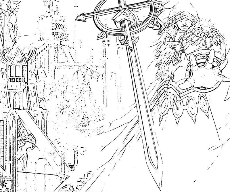 might-and-magic-heroes-best-angel-coloring-pages
