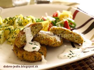 Zeleninové bochníčky s chrenovým dressingom - recepty