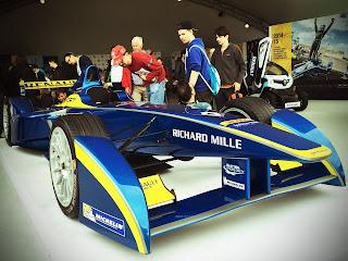Renault Formula E race car