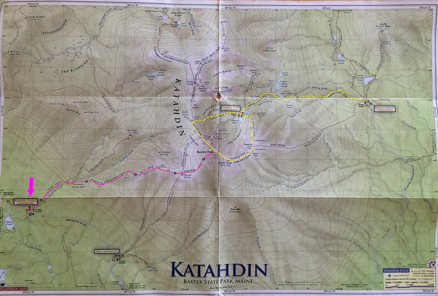 Hawaii Girl Adventures: Mt. Katahdin - Hiking
