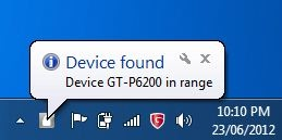 Device found