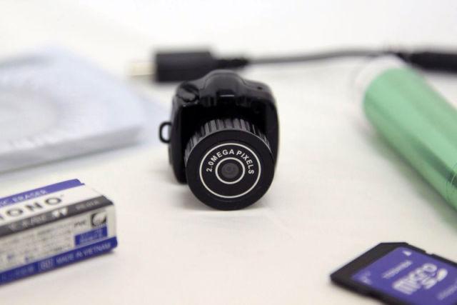 أصغر كاميرا في العالم