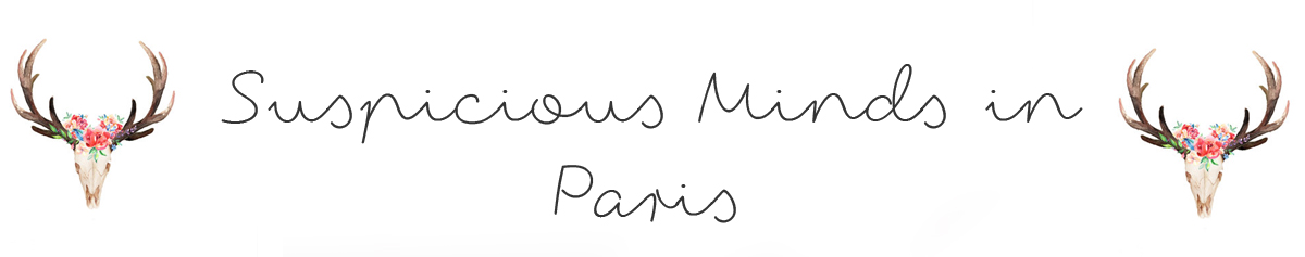 Bijoux fantaisie femme - bijoux tendance Suspicious Minds in Paris