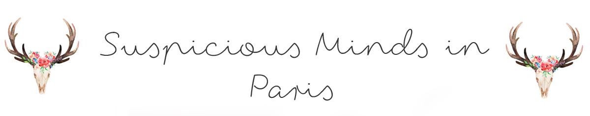 Bijoux fantaisie femme - bijoux tendance pas cher- Suspicious Minds in Paris