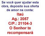 AJUDE NOSSO TRABALHO MISSIONÁRIO