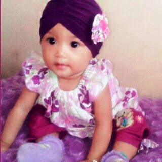 Gambar Bayi Lucu Pakai Turban