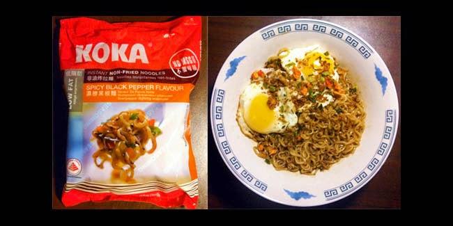 Koka Instant Non-Fried Noodles