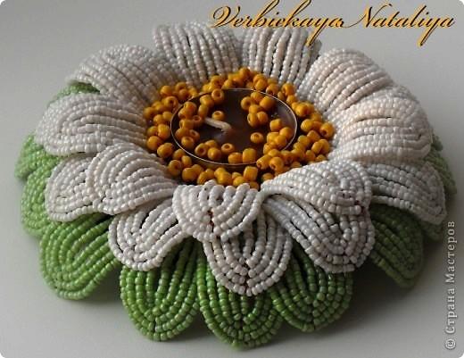 плетении бисером в основе