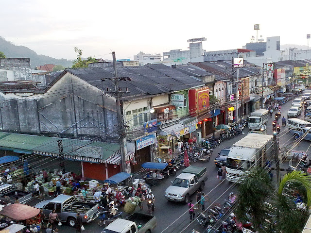 Ranong Road, From Phuket Fresh Food Market