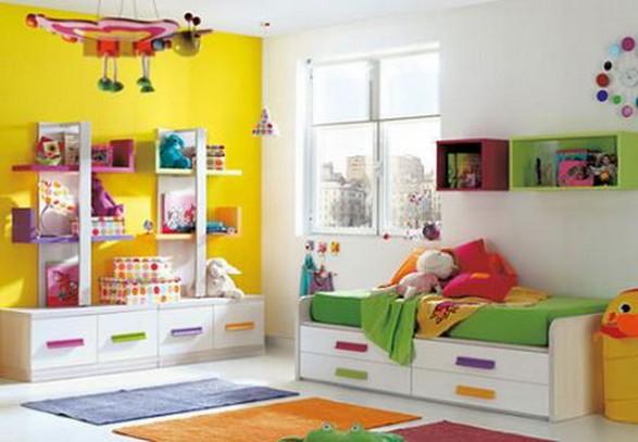 Ideas para el almacenamiento de los juguetes en las - Decoracion interiores infantil ...