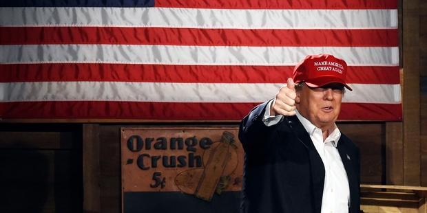 Donald Trump :The master and the apprentice