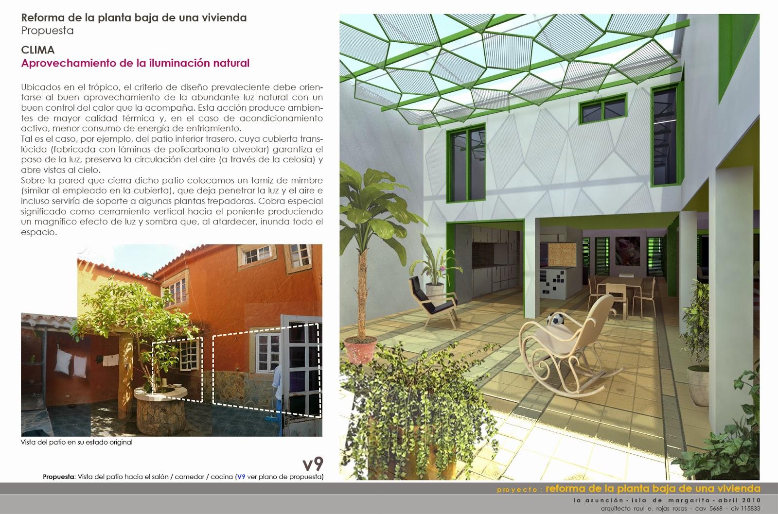 Proyectos r bca reforma de la planta baja de una vivienda for Reforma de una casa