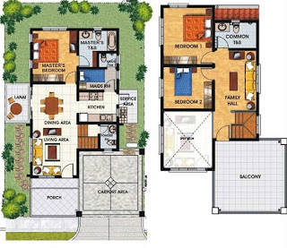 Triplex Plan 3 Townhomes Floor Plan at Prominence II at Brentville International Community