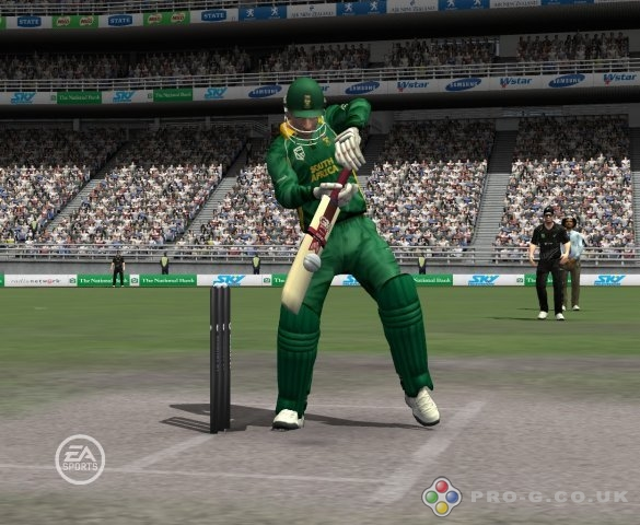 ea sports cricket 07 Nice Defence