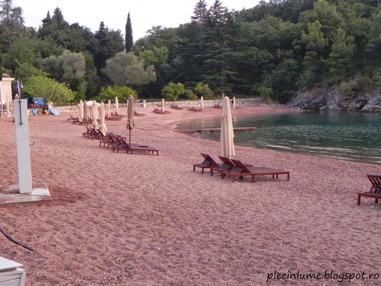 Plaja Reginei, Muntenegru
