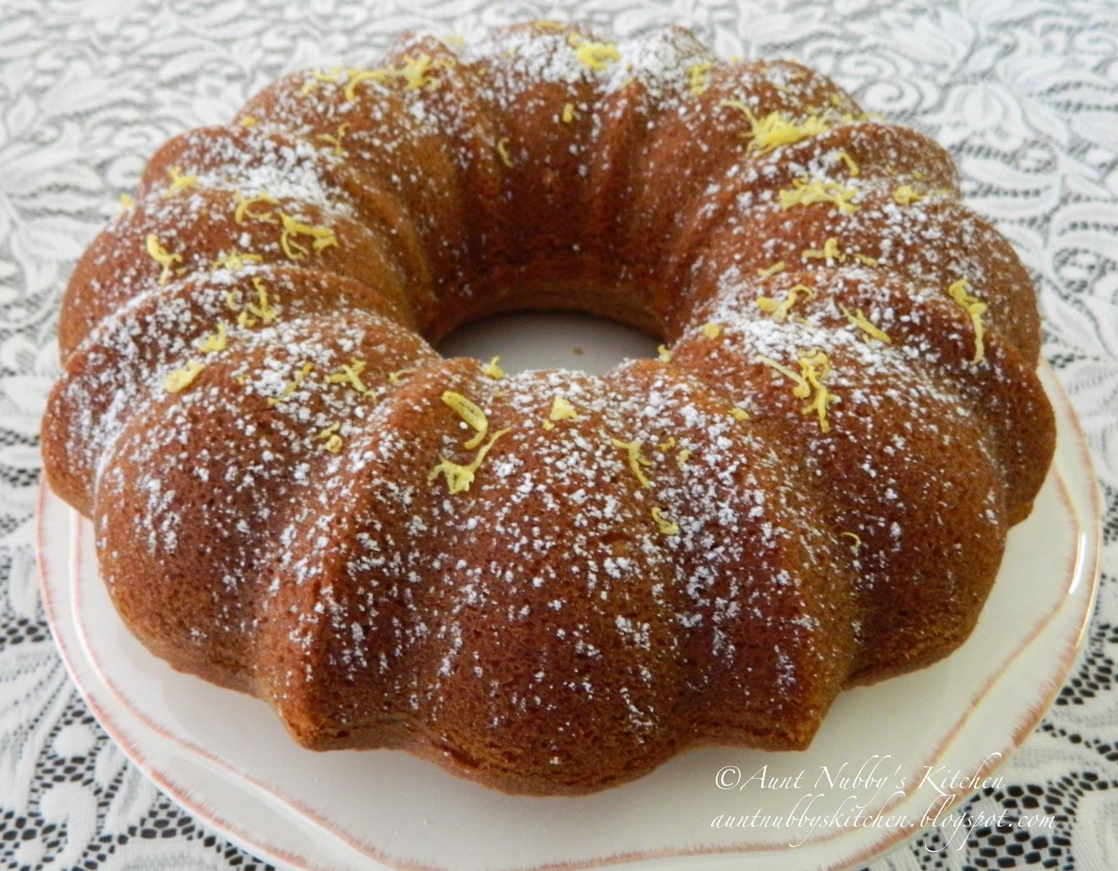 Gingerbread Bundt Cake Using Cake Mix