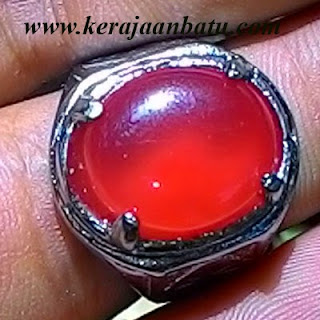 NATURAL RED CARNELIAN CHALCEDONY KODE KB95