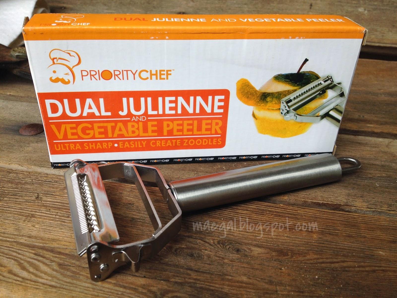 Dual Julienne & Vegetable Peeler
