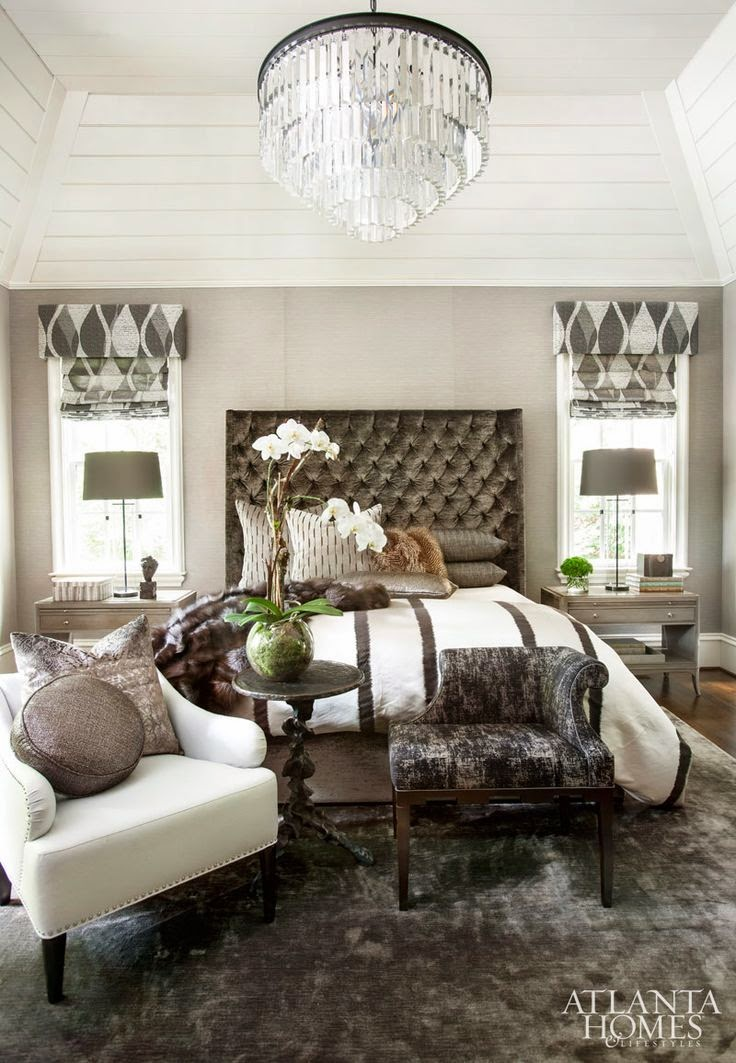 beautiful traditional neutral master bedroom