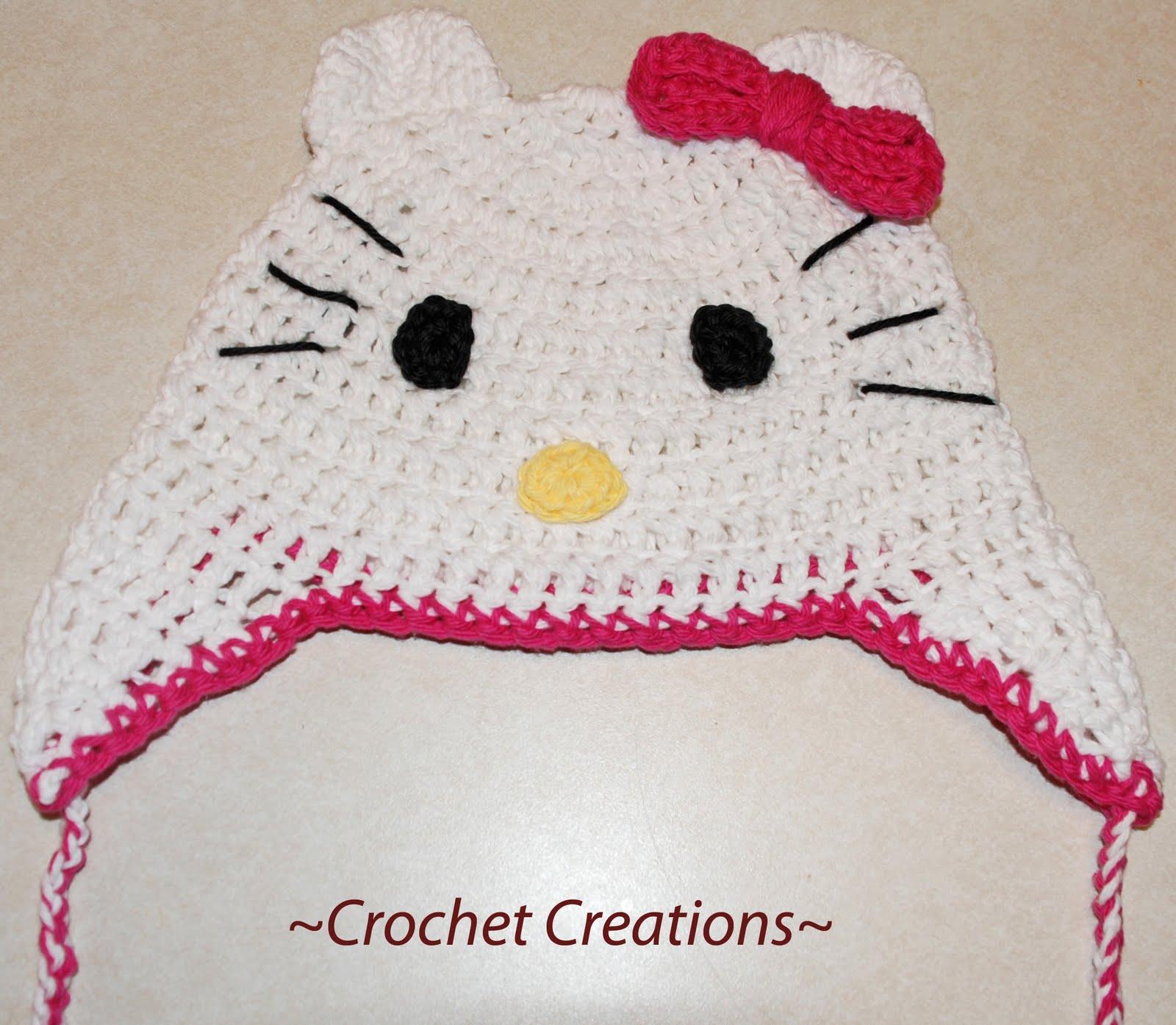 Crochet Patterns For Hello Kitty : Hello Kitty Crochet Headband images