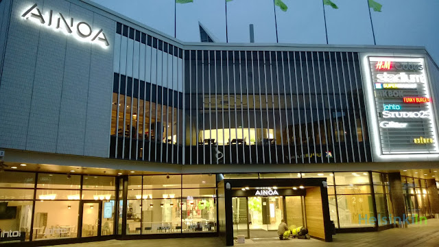 Kauppakeskus Ainoa in Tapiola, Espoo