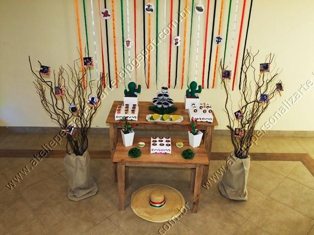 decoracao festa provencal rustico porto alegre