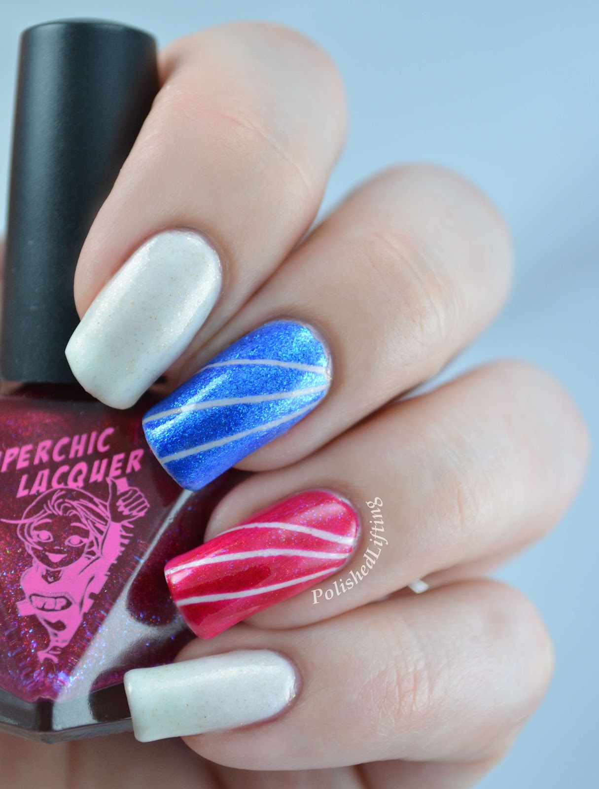 SuperChic Lacquer American Woman Trio Lady Liberty American Honey She's a Firecracker