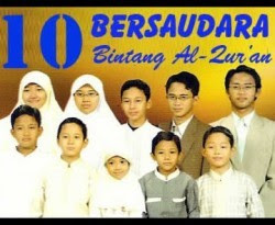 10 Bersaudara Hafal Al-Qur'an