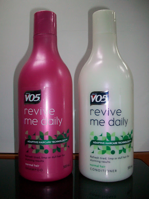 VO5 Revive Me Daily Shampoo and Conditioner